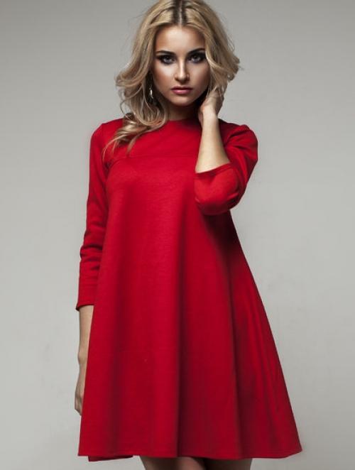 411441471eea8c9 Платье трапеция - бесплатная выкройка и инструкция, как сшить - Все ...