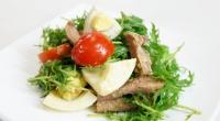 Китайский салат из свиного сердца